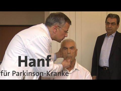 Parkinson: Cannabis auf Rezept