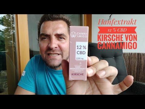 Hanf Aromaextrakt 12 % CBD Kirsche von Cannamigo