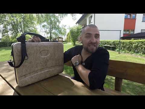 Der Hanf-Laptop-Koffer