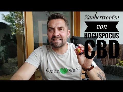 Zaubertropfen von Hocuspocus CBD