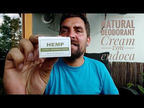 Hemp Natural Deodorant Cream von Endoca