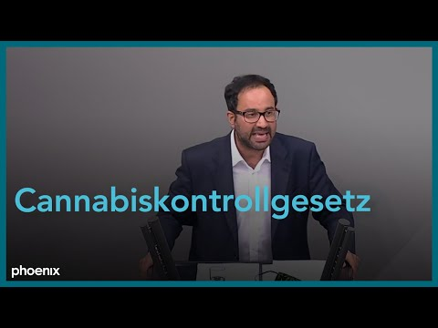 Bundestagsdebatte zum Cannabiskontrollgesetz am 29.10.20