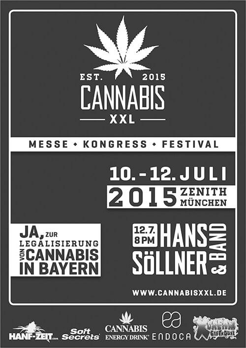 Flyer - Cannabis XXL in München