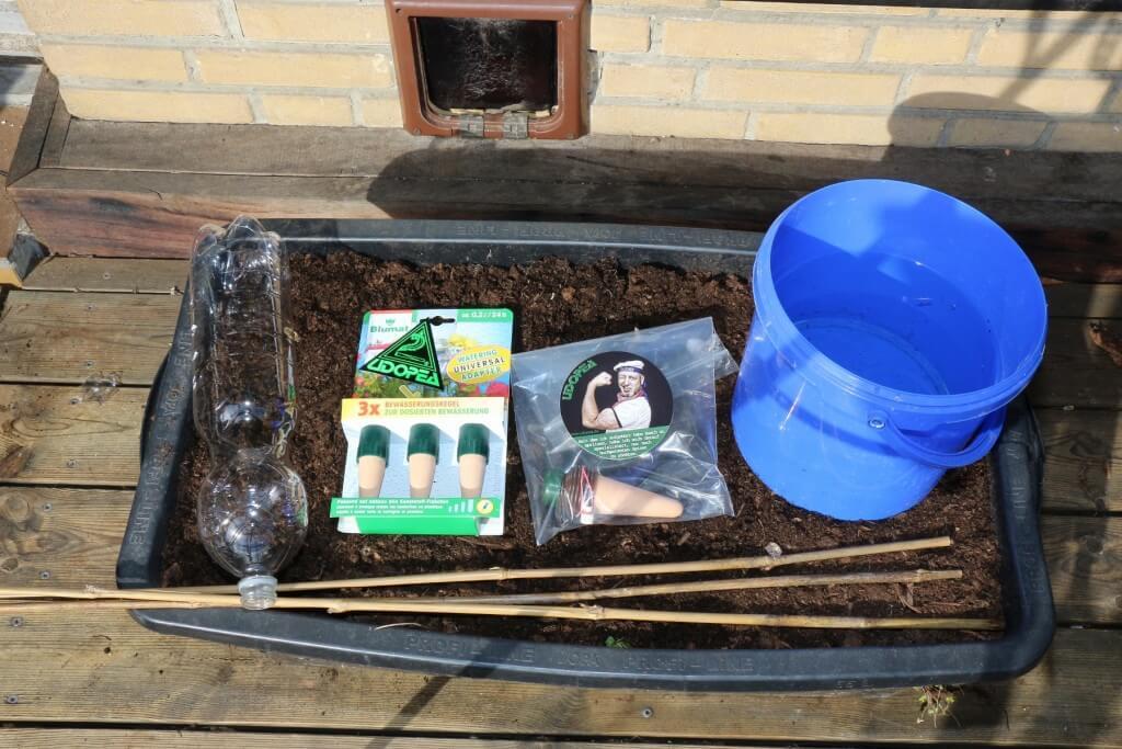 Notwässerung: Taugt Blumat?