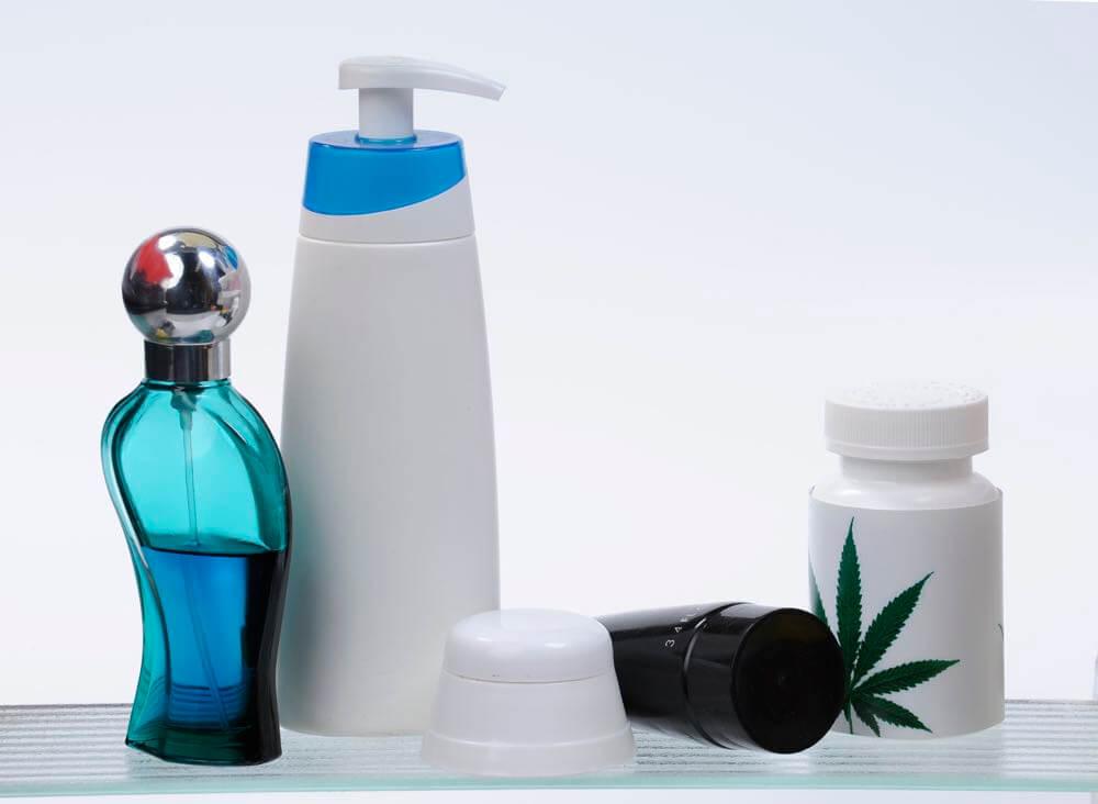 Kosmetik aus Hanfprodukten