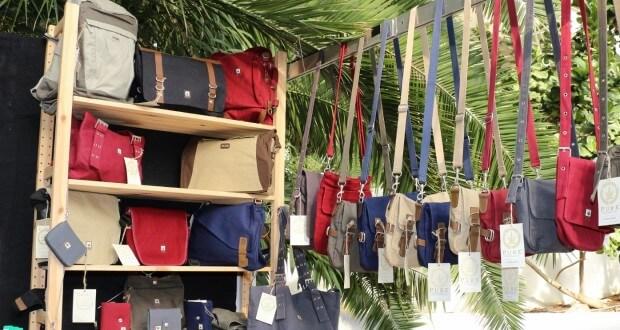Aus Hanf Hergestellt: Textilien, hier Taschen