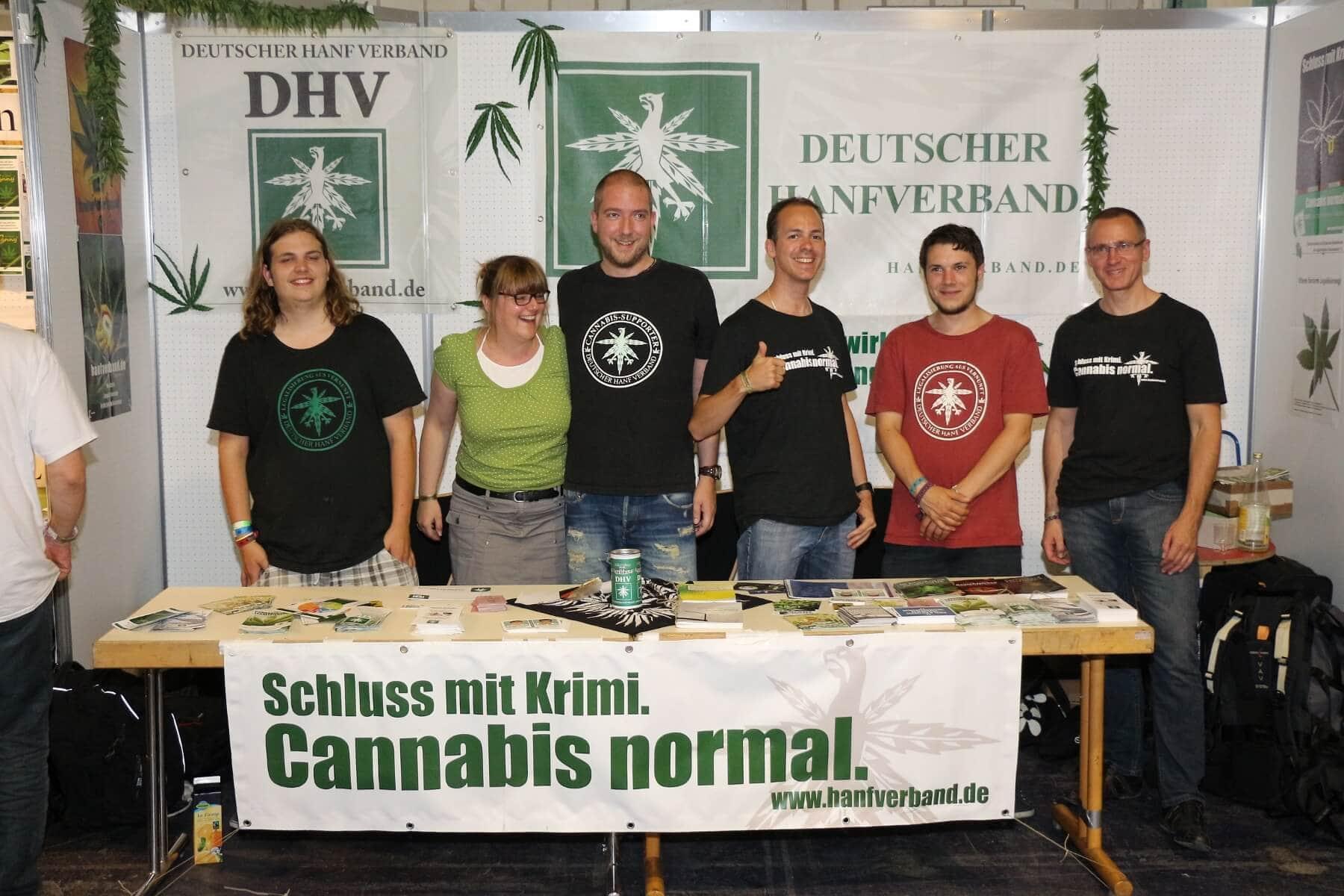 Der DHV auf der Cannabis XXL 2015