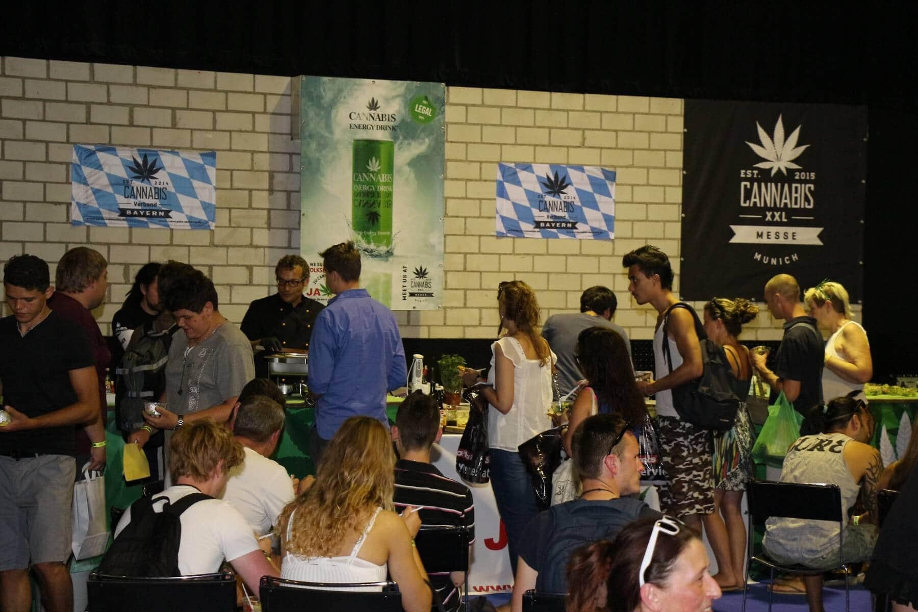 Hanf- Kochschow auf der Cannabis XXL