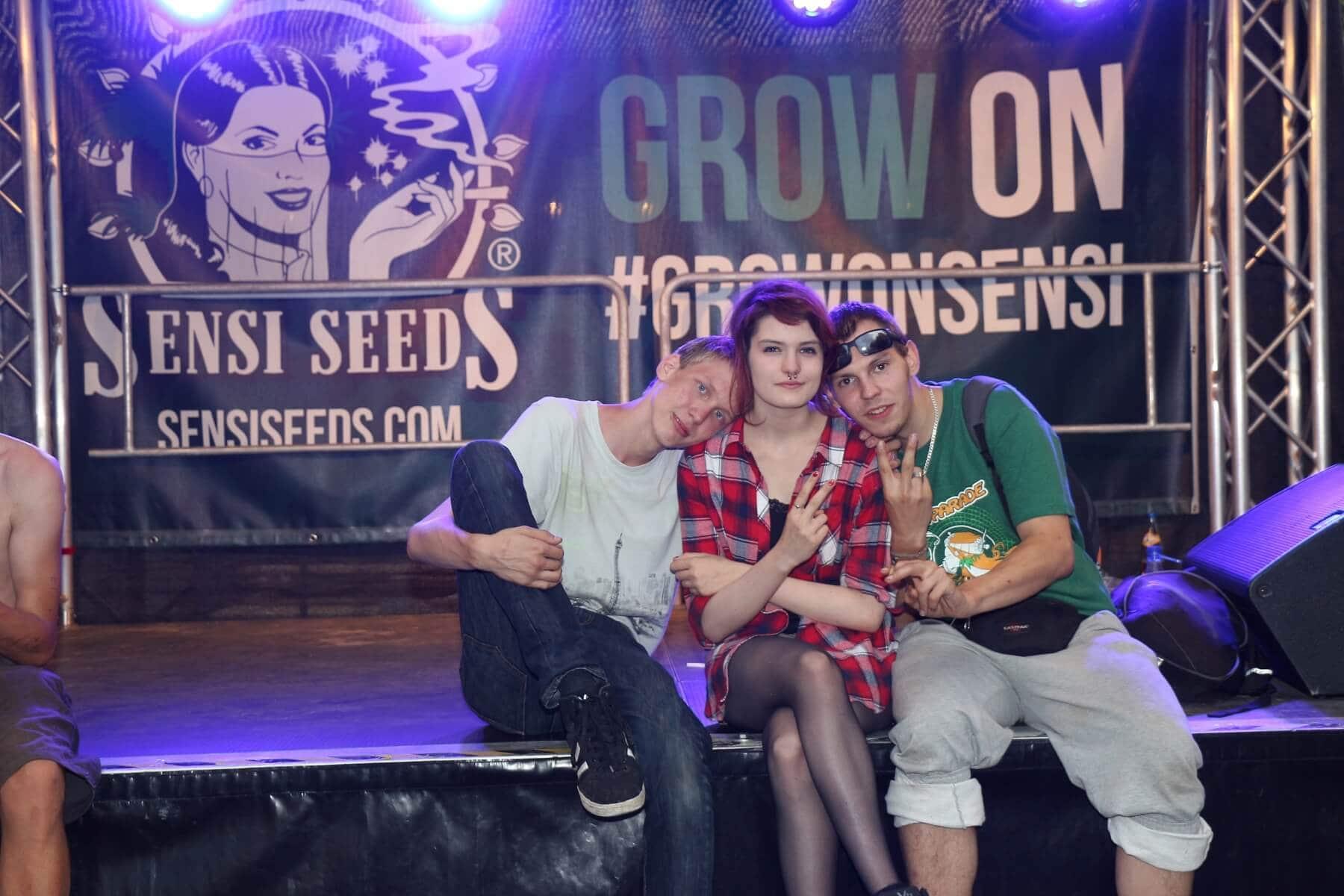 Sensi Seeds Bühne zum Kuscheln