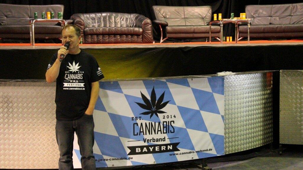 Wenzel als Veranstalter der Cannabis XXL