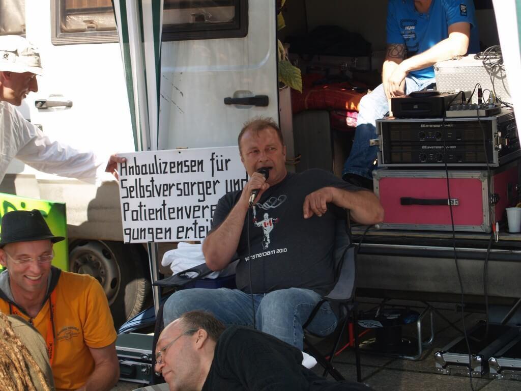 Bislang kein Patienteneigenanbau für Günter Weiglein