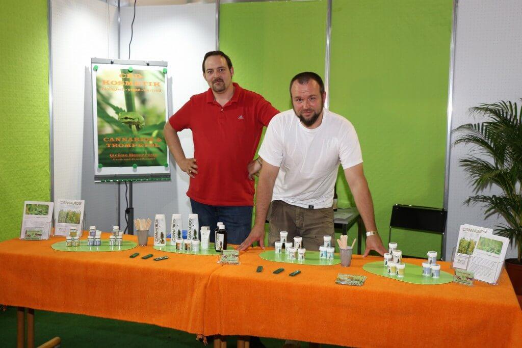 Grüne Besserung bietet Cannabios und Trompetrol von Cannacura