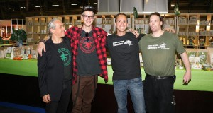 Hanffreunde MS mit anderen DHV Ortsgruppen auf Cannabis XXL