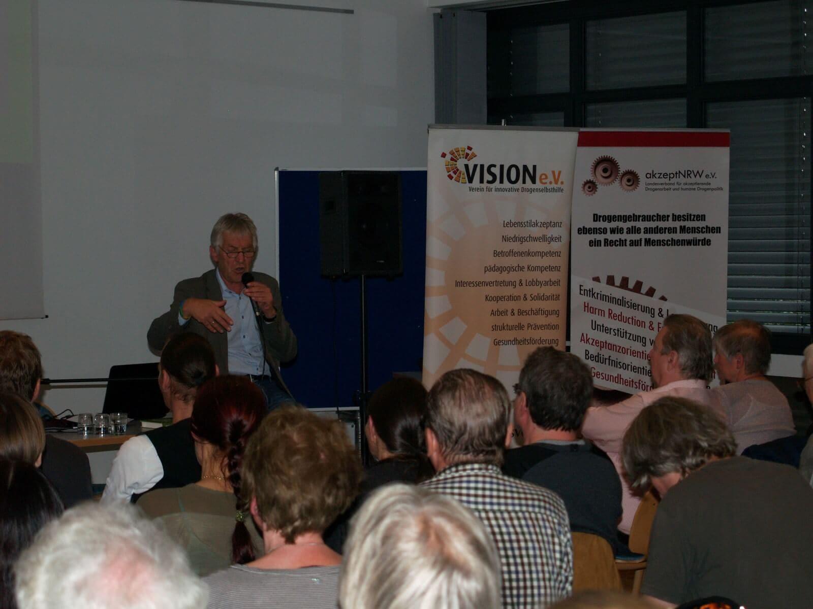 Hubert Wimber als Ex Polizeischef gegen Prohibitionisten