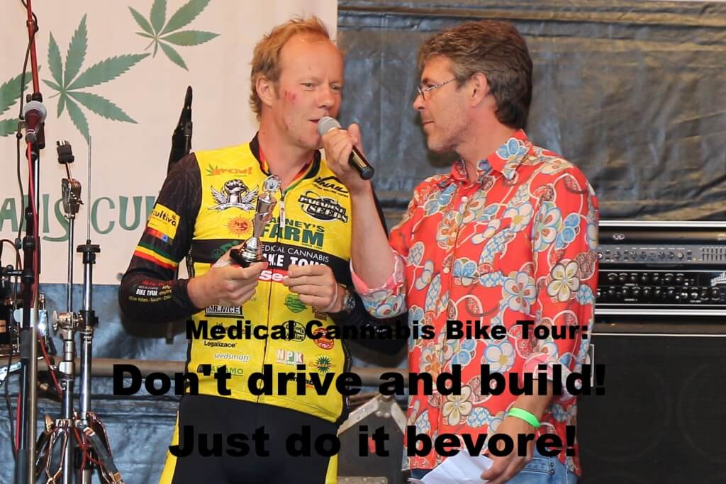 Cannabis als Dopingmittel: Don't drive and build!