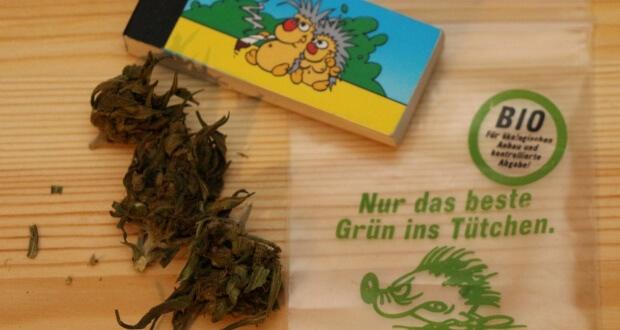 Marihuanalagerung: Nur Konsummengen mitführen!
