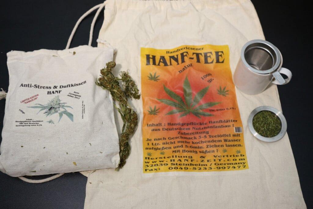 Legales Marihuana online bestellen, fast kein THC enthalten!