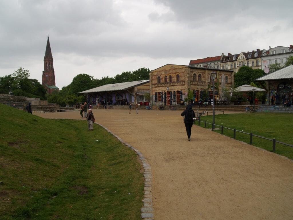 Szene am Görlitzer Park, hier tummelten sich Drogen Dealer