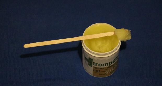 Trompetol extra: Dünn auftragen