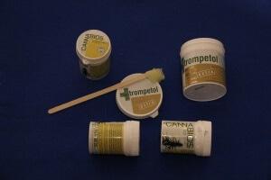Trompetol extra und Cannabios mit Salicylsäure