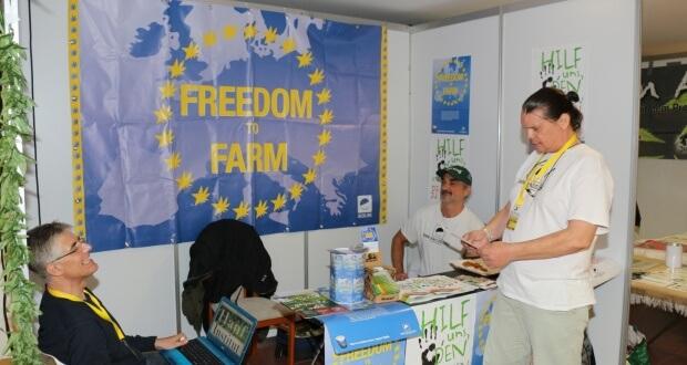 Freedom to Farm mit ENCOD
