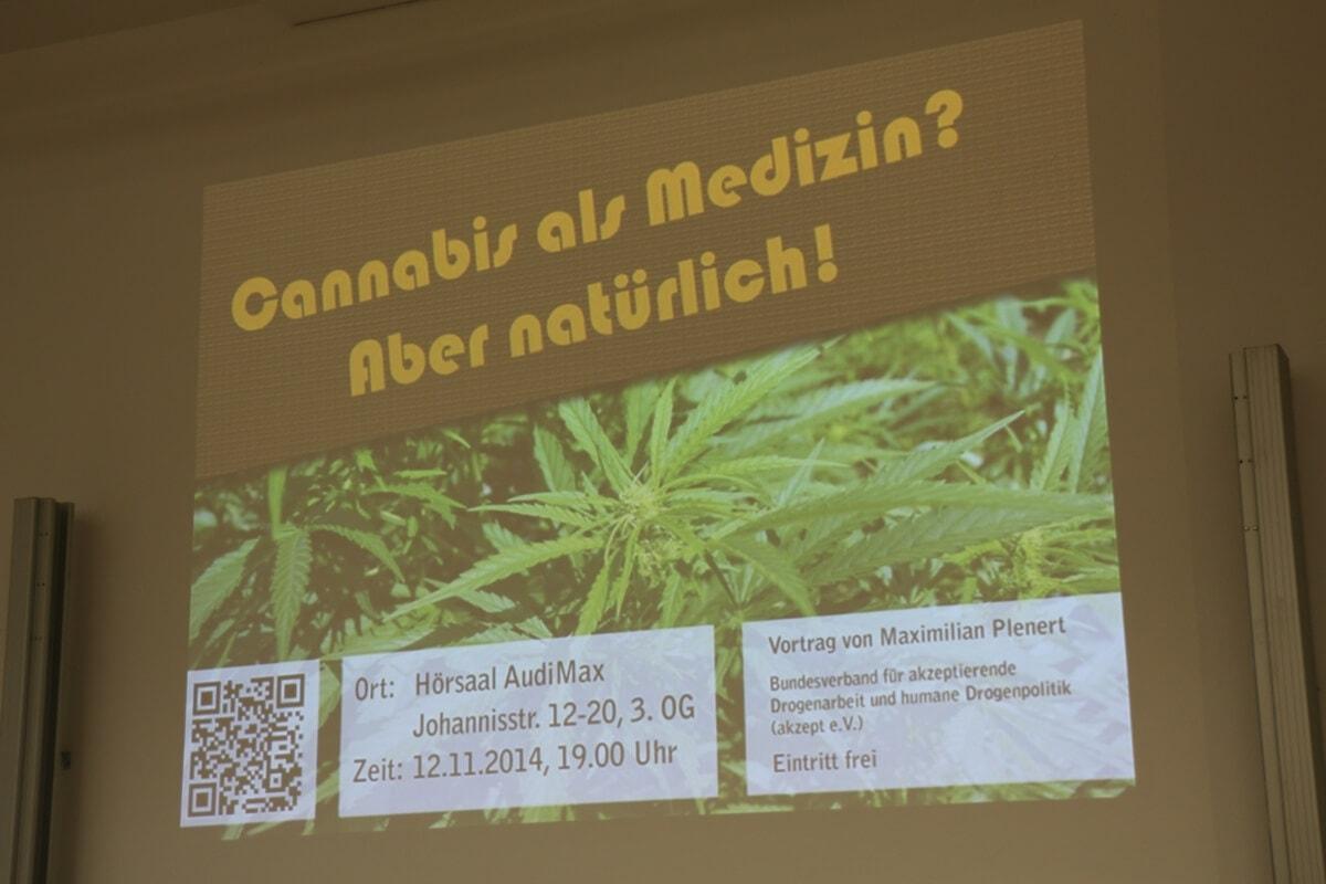 Münster Cannabis Veranstaltung der Hanffreunde
