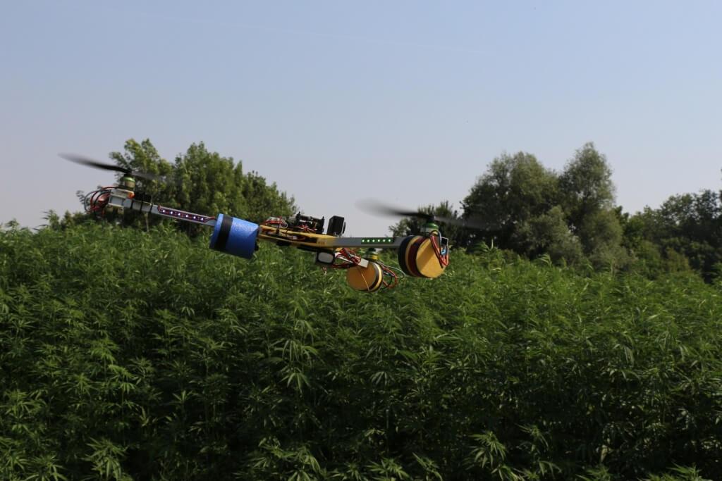 Mit Drohnen gegen Drogen