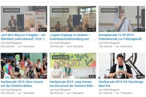 Hanf-Magazin Channel auf YouTube