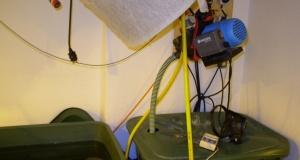 Größere Anlagen mit größeren Wassertanks brauchen stärkere Decken