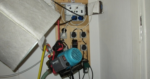 Nur mit solchen Elektrobrettern kann man in großen Anlagen den Überblick behalten