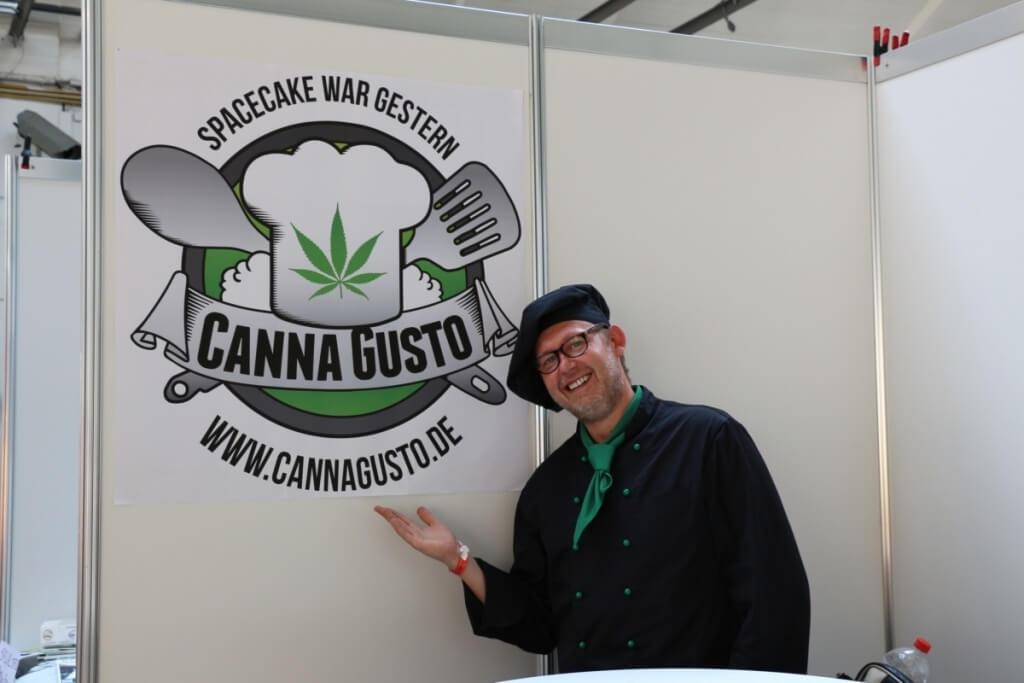 Canna Gusto kocht auf dem Hammf e.V. Sommerfest