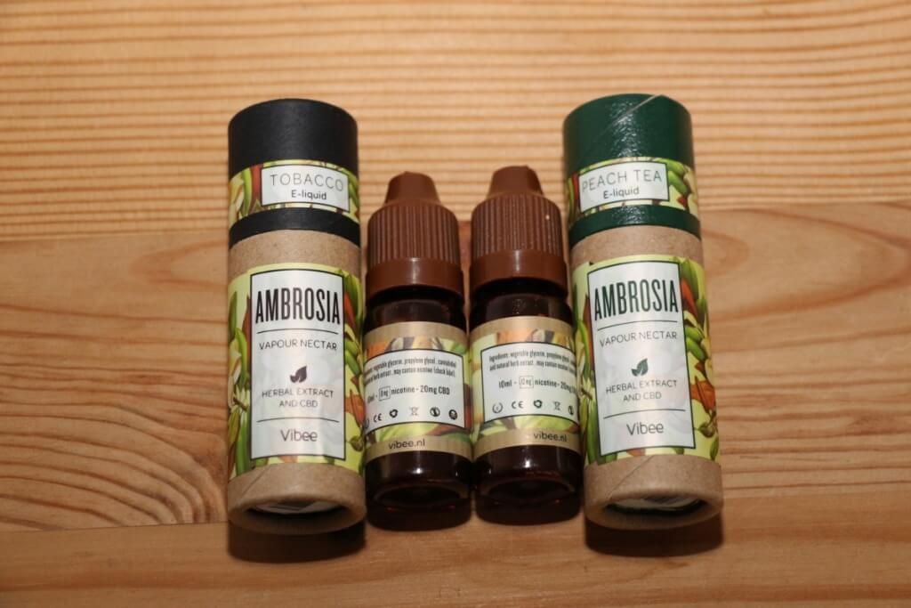 Mit und ohne Nikotin in der praktischen Dose