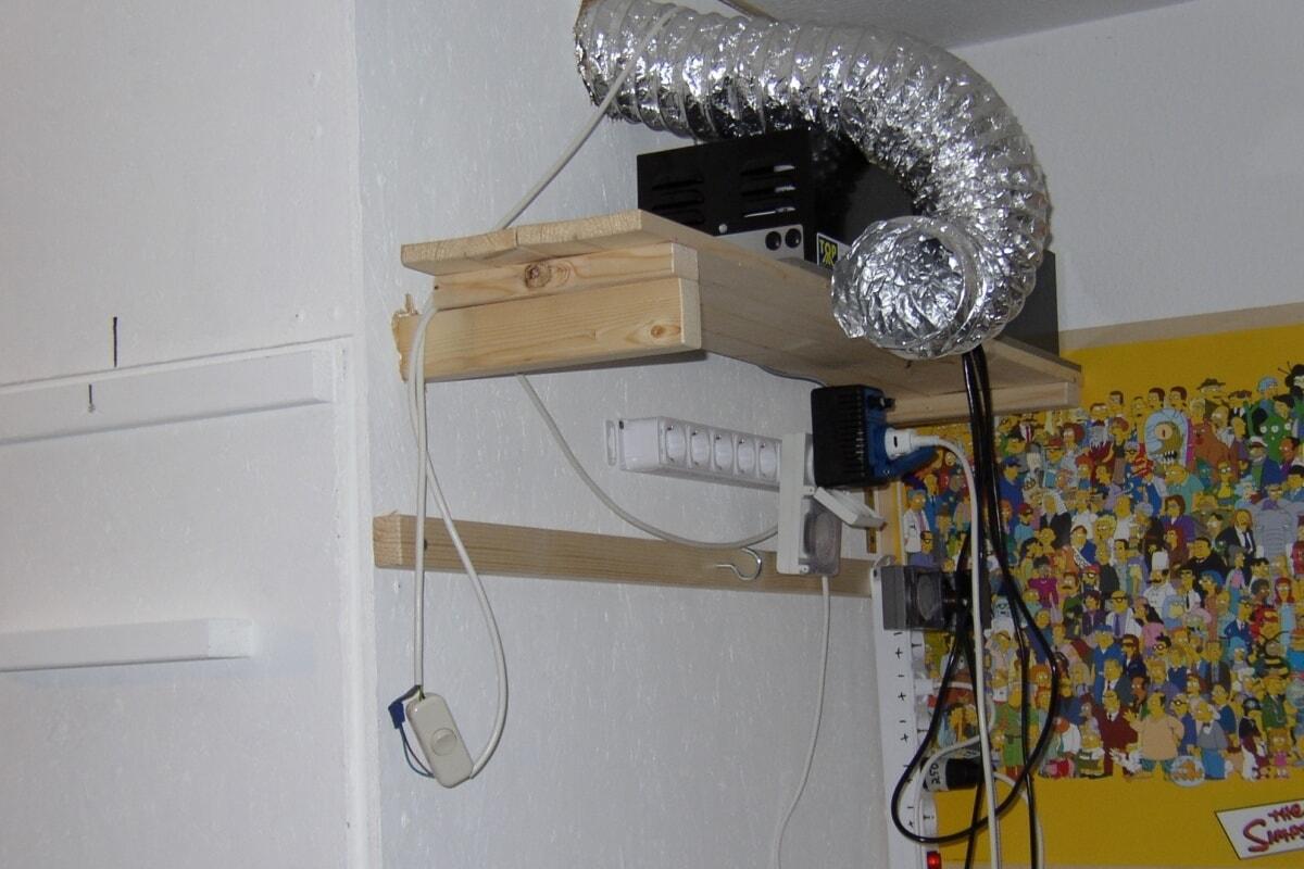 die growkammer einrichtung richtig einplanen und einbauen. Black Bedroom Furniture Sets. Home Design Ideas