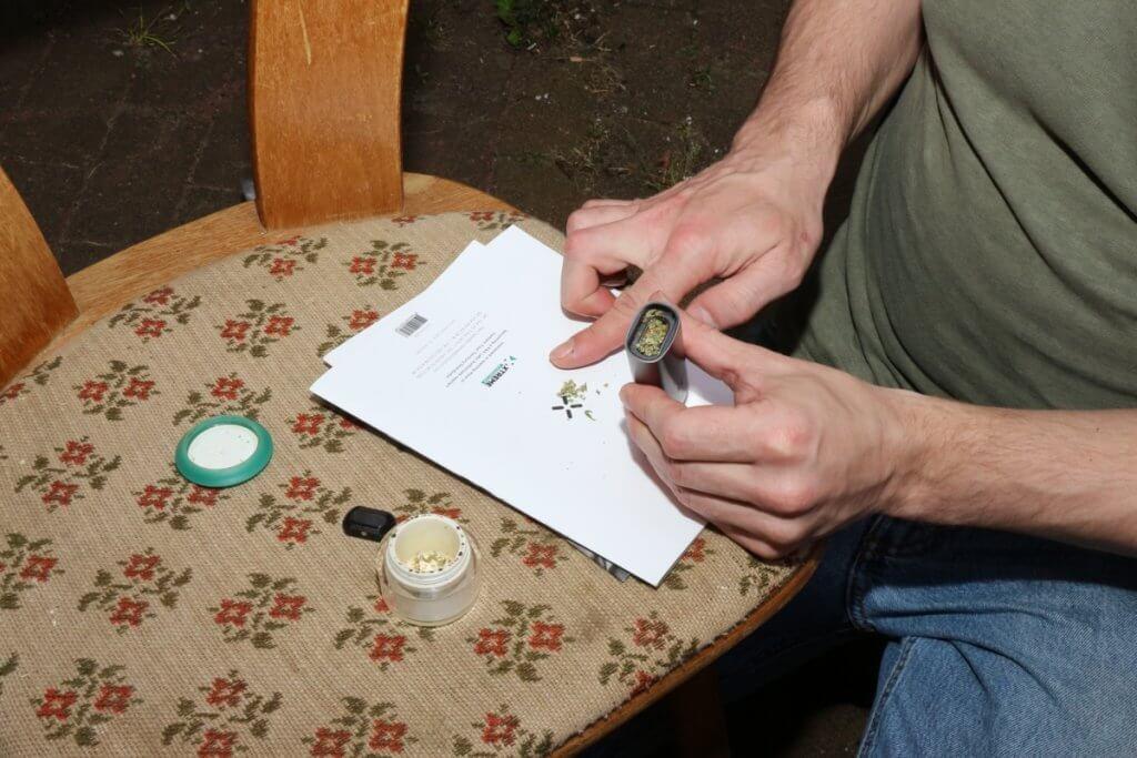 Von Alkohol auf Cannabis umsteigen macht friedlicher