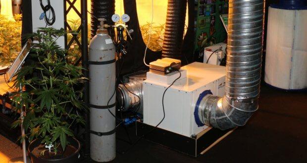 Für die CO2 Begasung mit Klimaanlage die NDLs kühlen frisst viel Strom