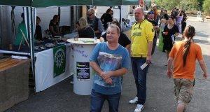 Günter besucht das Hammf e.V. Sommerfest