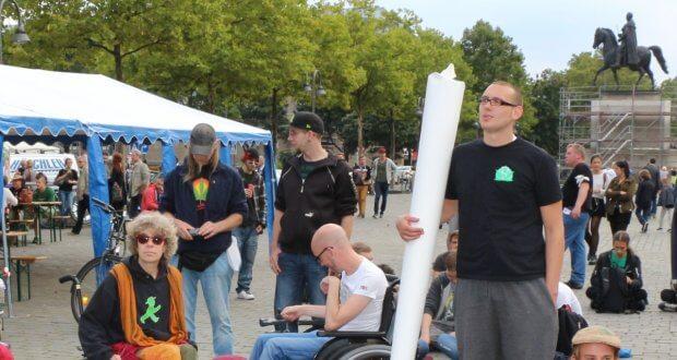 Patientendemo Dampfparade in Köln