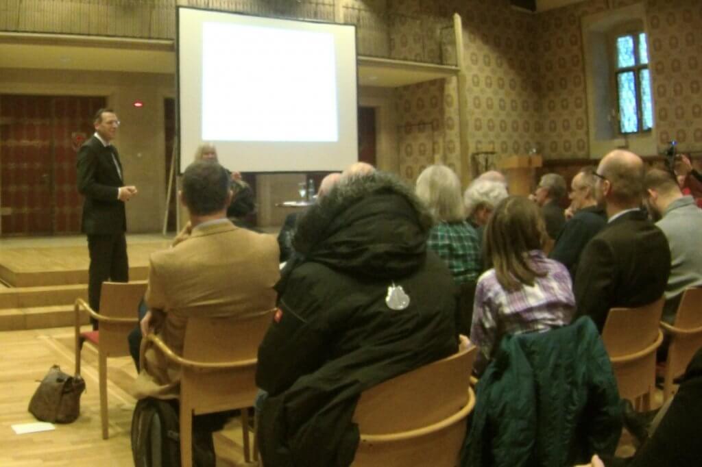 Prof. Smollich über das Endocannabinoidsystem auf der Cannabis Fachtagung