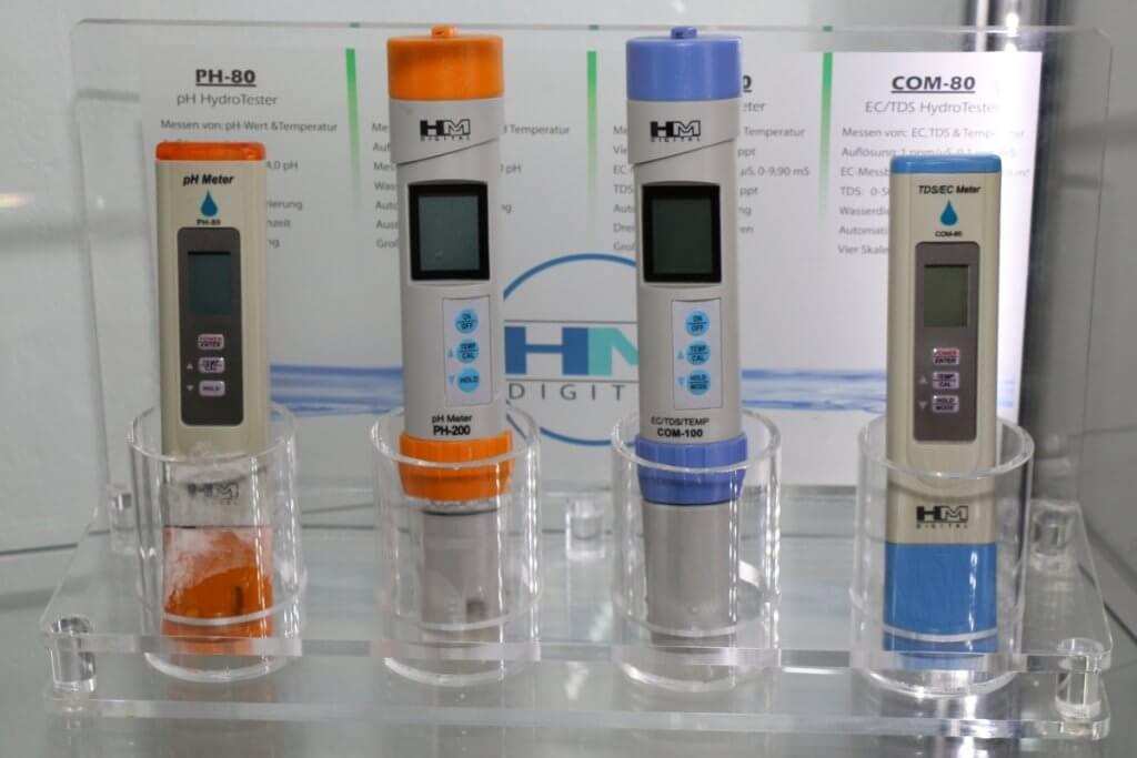 pH Messgeräte mit Glassonde müssen pfleglich behandelt werden