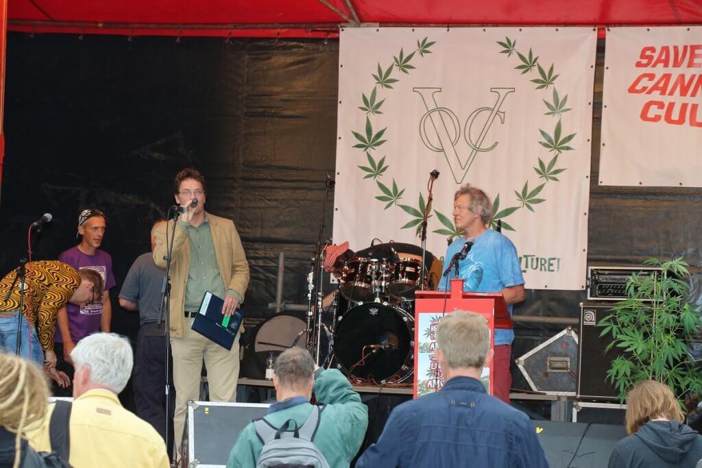 Der Cannabis Liberation Day mit festem Bühnenprogramm
