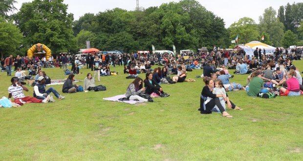 Viel Platz im Flevopark - Amsterdam