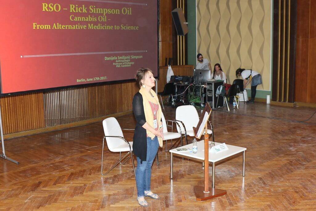 Danijela Smiljanic Simpson über Rick Simpson Öl