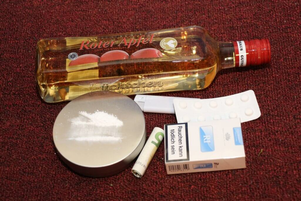 Trotz Drogenverbot alles schnell eingekauft