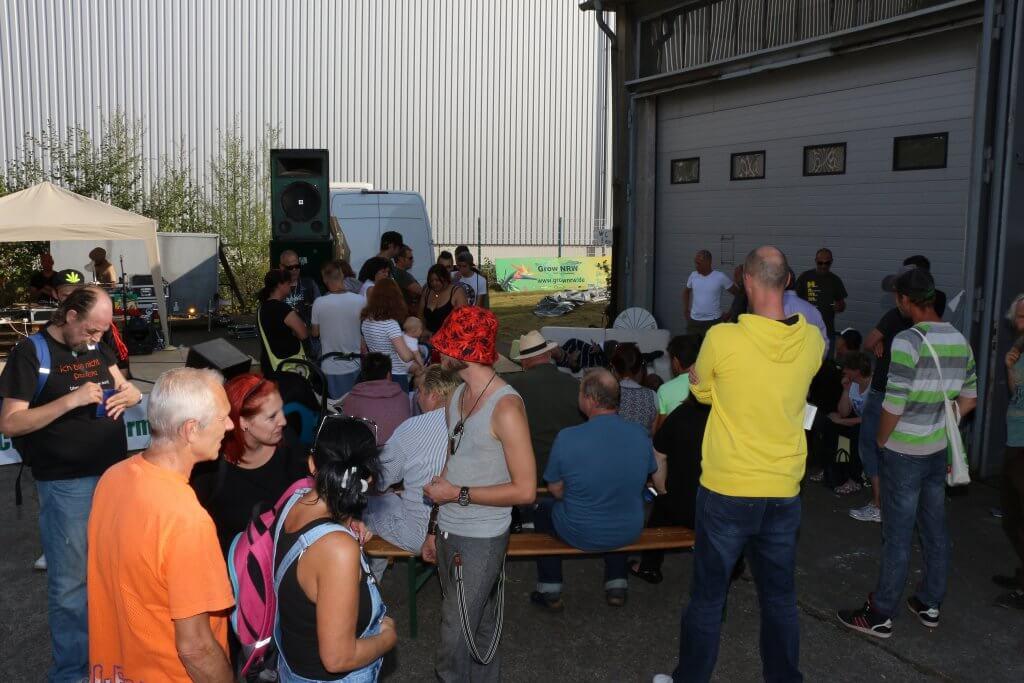 Hammf e.V. Sommerfest - ein Jahr vor dem Hungerstreik