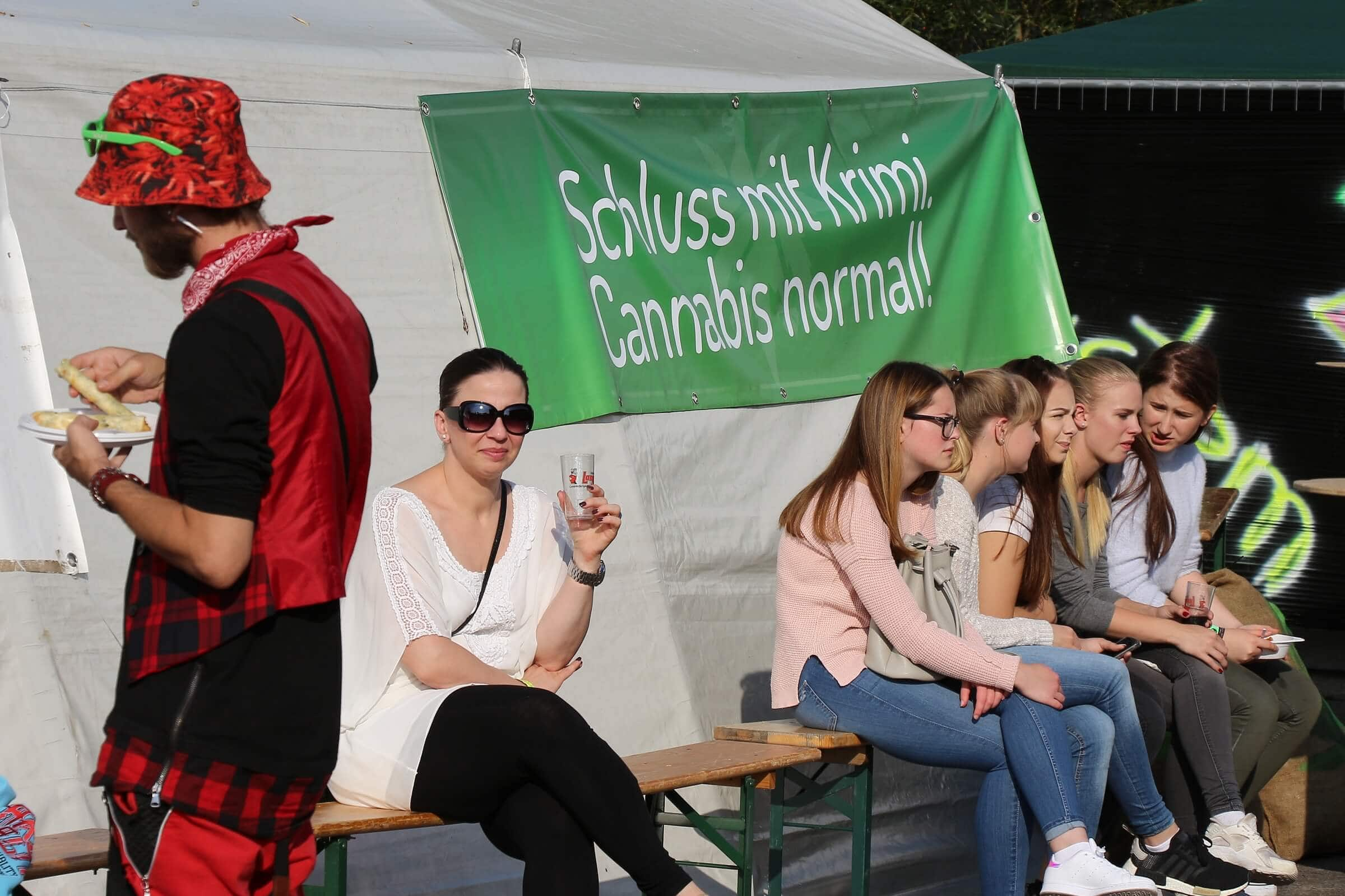 Schluss mit Krimi. Cannabis normal!