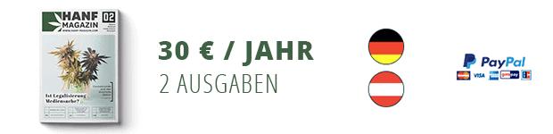 Hanf Magazin Abo - Deutschland/Österreich