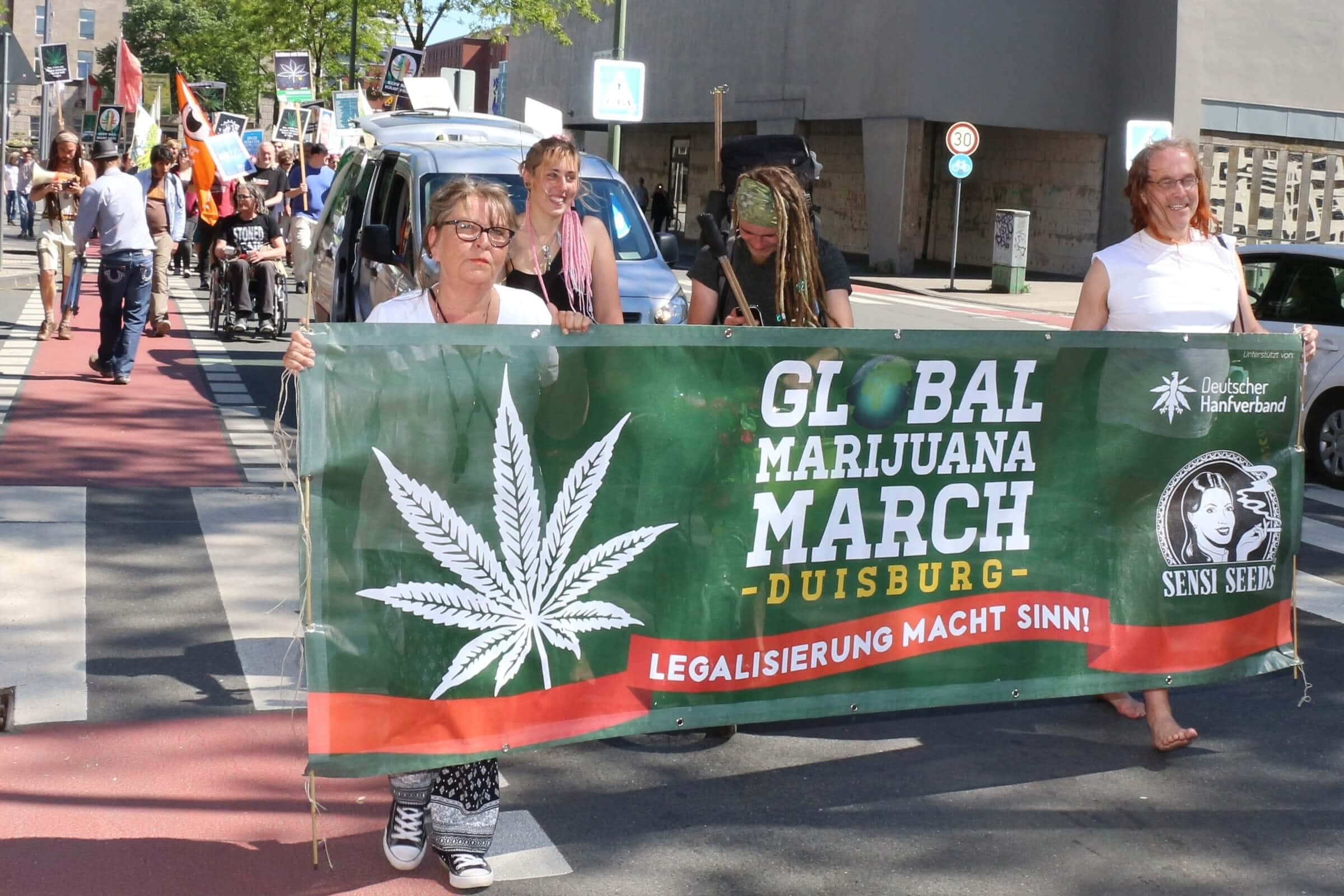 Global Marijuana March Duisburg